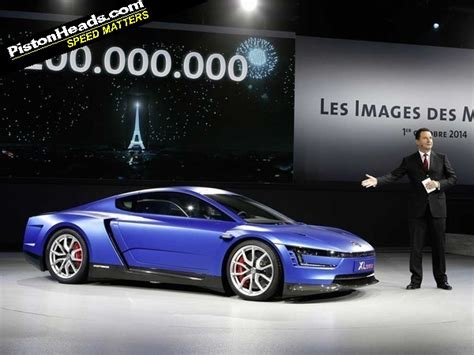 volkswagen xl1 sport ducati engined vw xl sport paris 2014 pistonheads