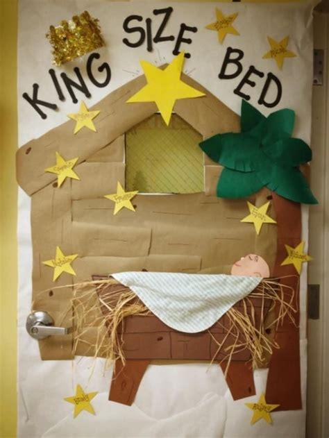 religious christmas door ideas door and bulletin board idea for preschool school