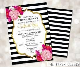 Ordinary Etsy Wedding Invitations #8: Bridal-shower-wedding-invitation-printable-invitation-weddings-bridal-invite-wedding-invite-invitations-kate-spade-stripes-flowers.jpg