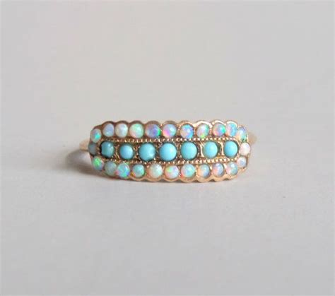 turquoise opal engagement the 25 best 14k gold ring ideas on pinterest 14k gold