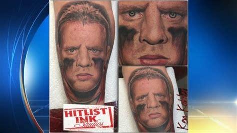 jj watt tattoo shows texans fandom with j j watt