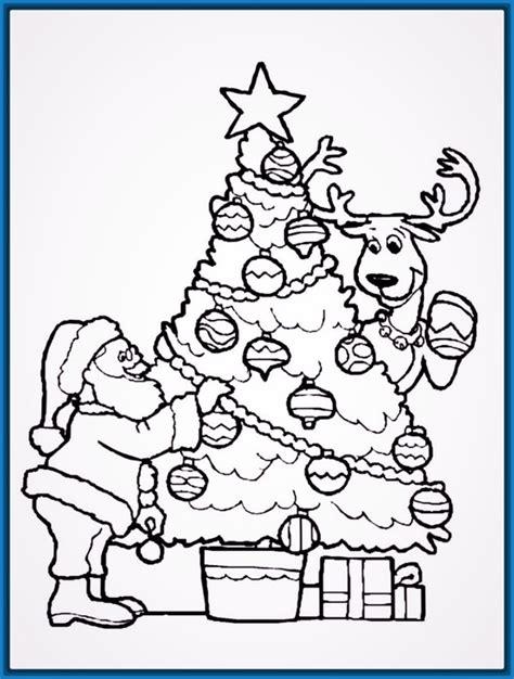 dibujos de arbolitos de navidad best dibuja un pino