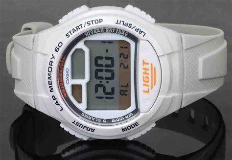 Tali Jam Tangan Casio W 734 Original jual casio w 734 7av baru jam tangan terbaru murah lengkap murahgrosir