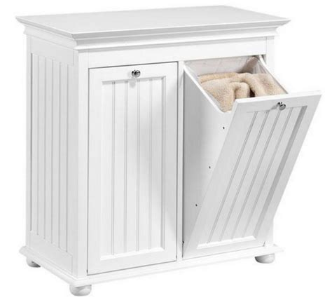 tilt out laundry cabinet home wood tilt out laundry her storage shelf