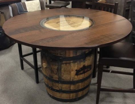 whisky tisch whiskey barrel table oaksmith interiors