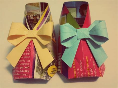 How To Make An Origami Shoe - origami baby shoes by leezarainboeveins on deviantart