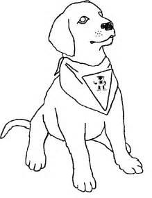 Dog Coloring Pages Labrador L L L