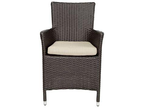 Patio Heaven Patio Heaven Malibu Wicker Arm Chair Ph Mac