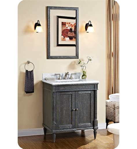 Fairmont Designs Rustic Chic Vanity by Fairmont Designs 143 V30 Rustic Chic 30 Inch Vanity In