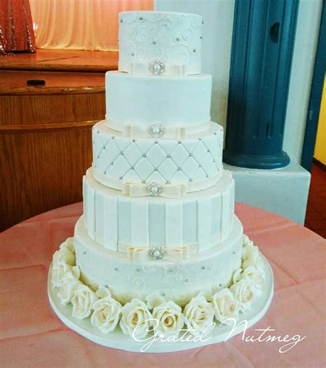 wedding tier cake the of a five tier wedding cake grated nutmeg