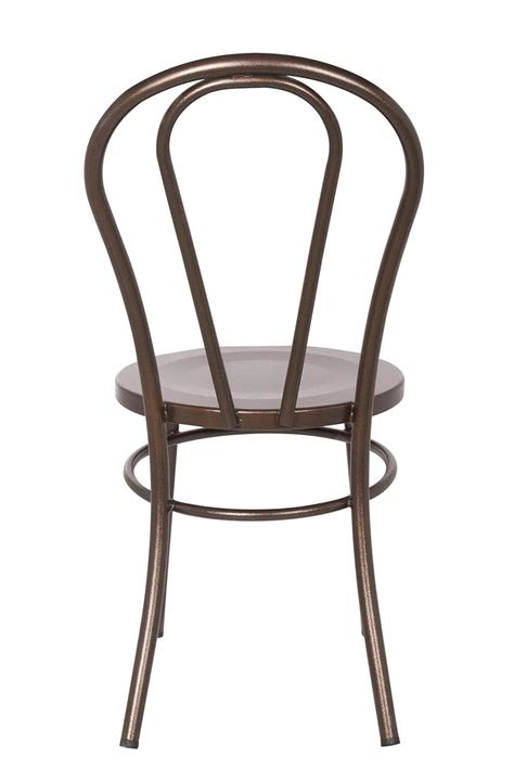 Metal Thonet Chair by Bentwood Metal Chair Replica Thonet Copper