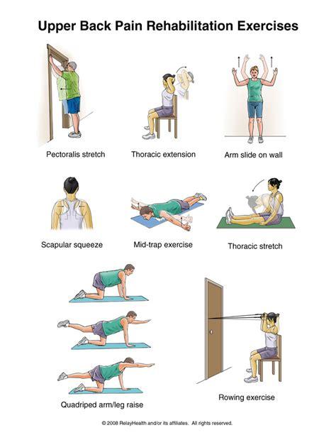 lower back exercises ease your back rehabilitation exercises p handouts