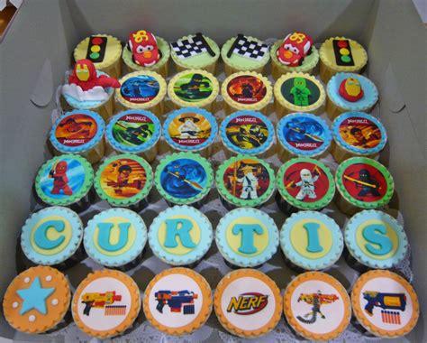 Jenn Cupcakes Ins Ninjago And Cars Cupcakes