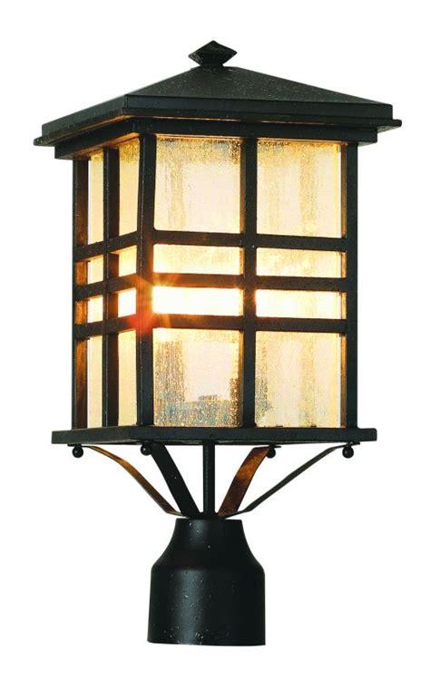 Japanese Outdoor Lighting Trans Globe Lighting 4639 Bk Black Asian Two Light Up Lighting Outdoor Post Light From The