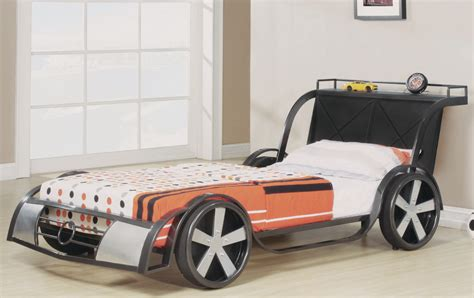 rv8 gunmetal kids bed frame race car 39 quot brand new