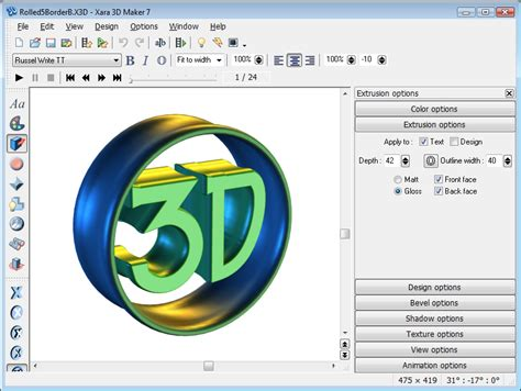 video tutorial xara3d xara 3d maker screenshots