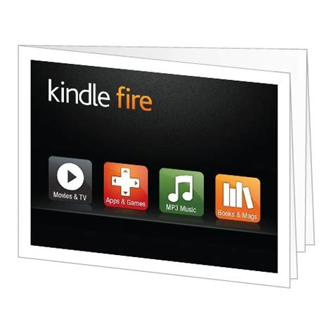 Gift Cards For Kindle Fire - amazon gift card print amazon kindle fire shopswell