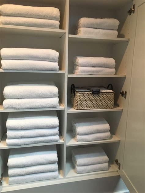 post konmari   organize  sheets  towels