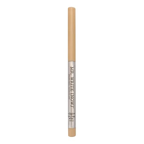 The Balm Mrwritenow Eyeliner Pencil Brian B Beige mr write now 174 eyeliner pencil brian b beige mym