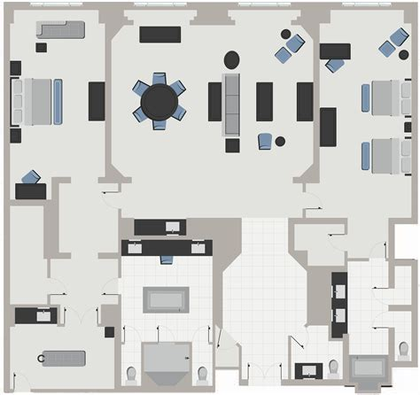 Mgm Signature One Bedroom Balcony Suite Floor Plan by 100 Two Bedroom Suites Las Vegas Two Bedroom Suite