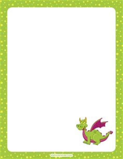 printable dragon stationery printable bat stationery and writing paper free pdf