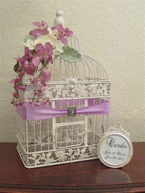 Wedding Card Box Birdcage by Wedding Card Box Bird Cage Wedding Card Holder With