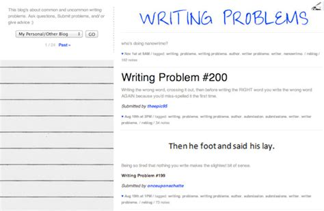 tumblr themes for writing blogs free 10 tumblr blogs to follow for great writing tips hongkiat