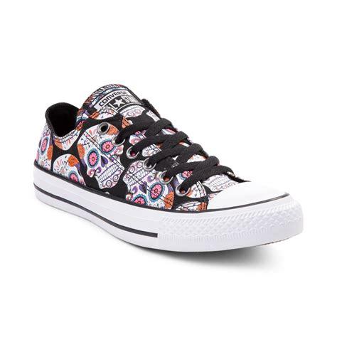 skull shoes converse chuck all lo sugar skulls sneaker