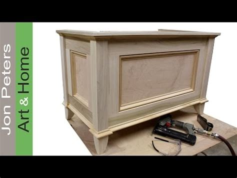 jon peters woodworking make a blanket chest chest by jon peters