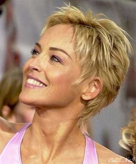 sharon stone short hair on round face 25 best short haircuts for 2015 short hairstyles 2017