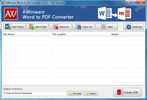convert pdf to word vbscript download awinware word to pdf converter from files32