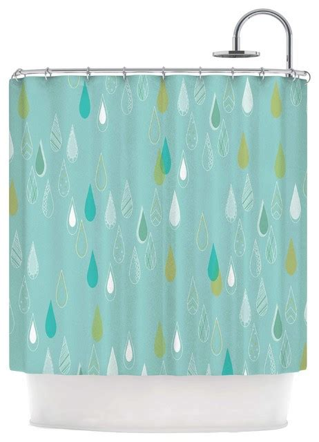 teal and gold curtains bridgette burton quot feathered rain quot teal gold shower curtain