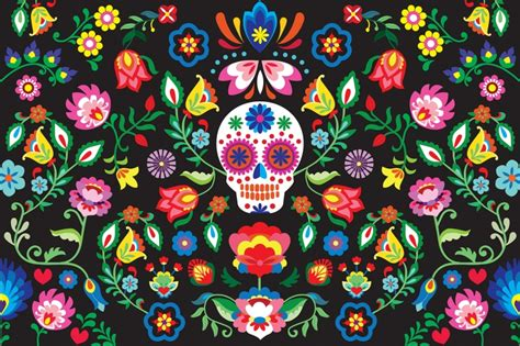 day of the dead background fabulous day of the dead wallpaper pitter pattern