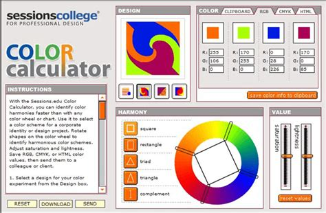 Color Calculator Pictures