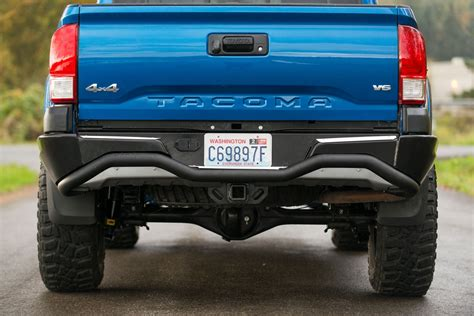 Toyota Tacoma Rear Bumper 2016 Present Toyota Tacoma Rear Bumper By Camber