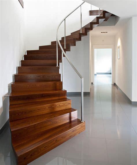 moderne treppen faltwerk modern wood stairs from siller treppen architonic