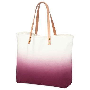 jcp dip dye tote bag jcpenney purses