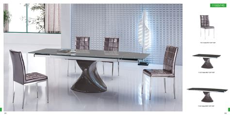 modern dining room table and chairs amazing modern dining chair and dining table with z shape