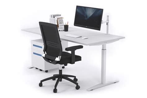 white stand up desk sit stand range stand up electric height adj desk white