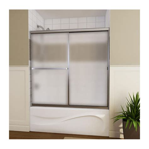 sliding glass bathtub doors quot mika quot sliding bathtub door rona