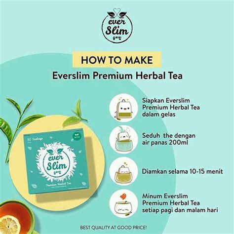 Everslim Premium Tea everslim tea premium herbal tea agen penjualan resmi