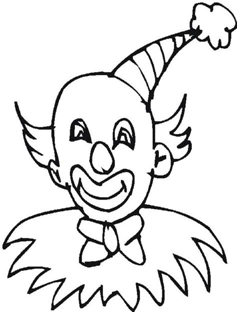 coloring pages of clown hats clown hat page coloring pages