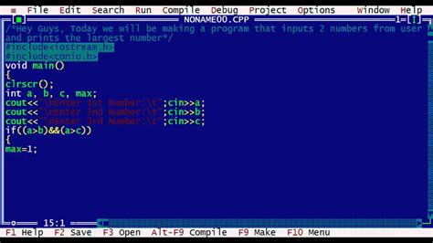 youtube tutorial numbers turbo c tutorial largest number program hd youtube
