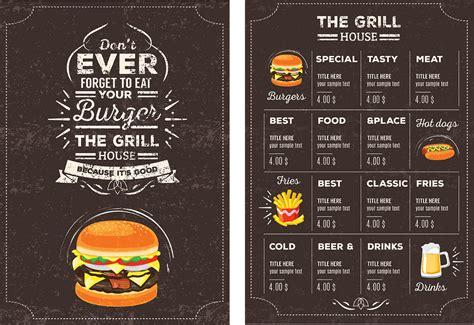26 free restaurant menu templates to download