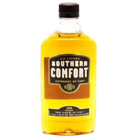 southern comfort alcohol proof southern comfort 100 proof liqueur 375ml beer wine