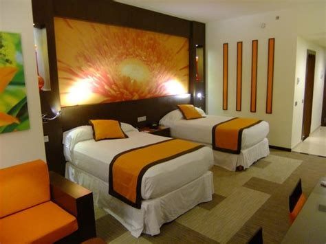 blazing bedrooms bedroom in blazing orange picture of hotel riu plaza