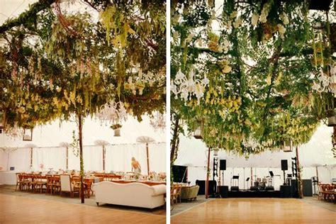 decorar techo boda decoraci 243 n de boda con techo de follaje carpas boda