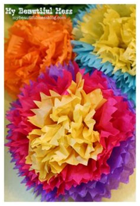 How To Make Mexican Decorations With Tissue Paper - 1000 ideas about mexican paper flowers on