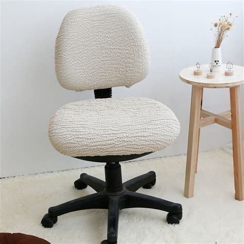 Elasticated Dining Chair Seat Covers Removable Chair Cover High Elastic Office Chair Covers Stretch Computer Dining Chair Seat
