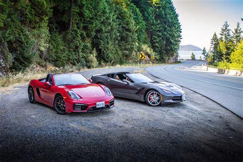 2015 chevrolet corvette stingray vs porsche boxster gts
